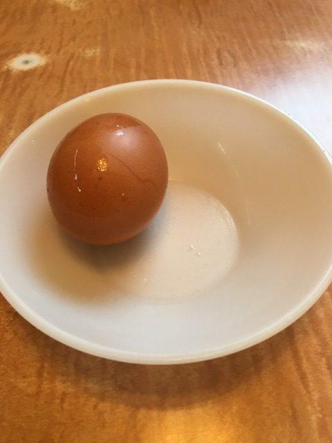 安全食堂のゆで卵