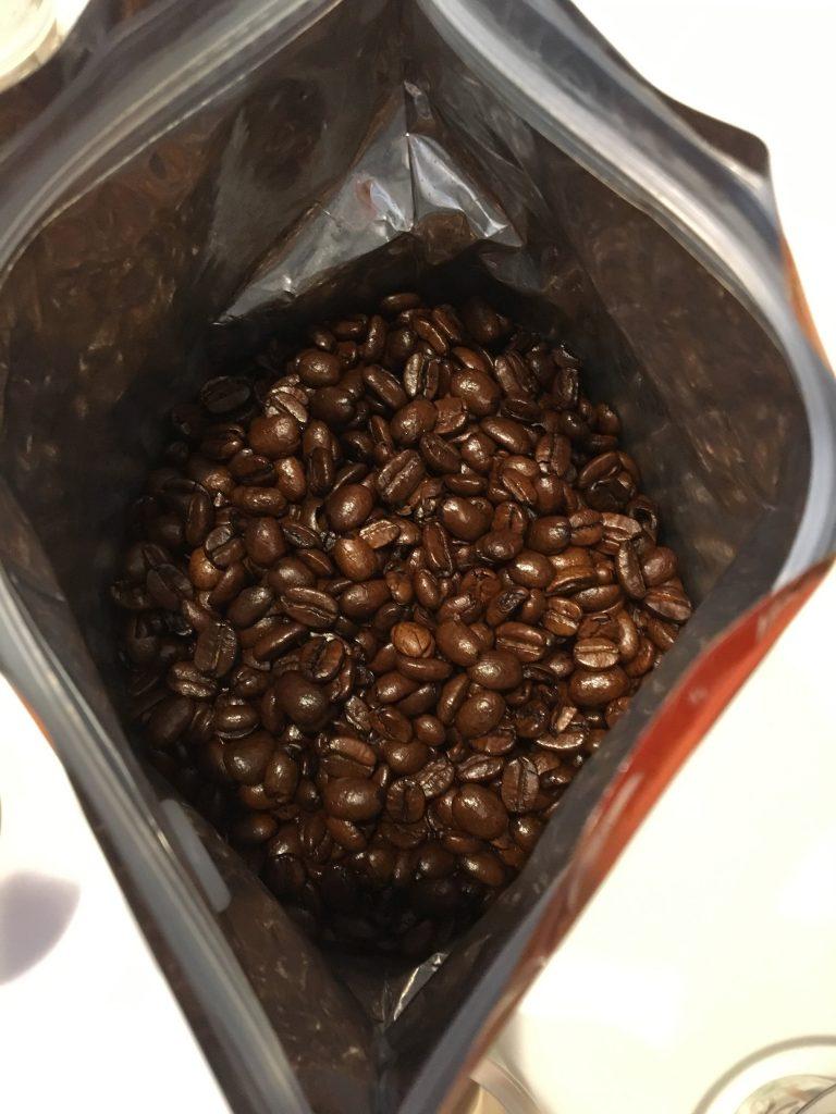 ザビダのバニラコーヒーの中身