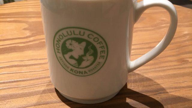 キッテ博多の中にあるホノルルコーヒー