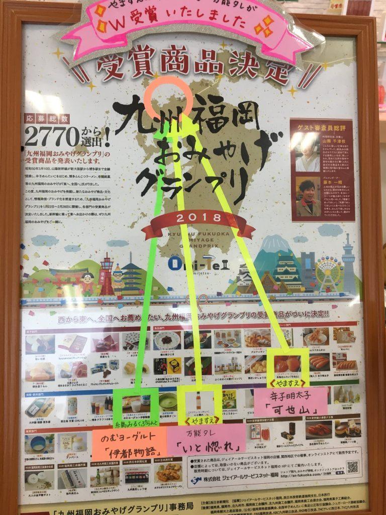 九州福岡グルメグランプリ受賞の絵