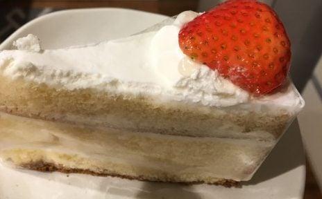 シャトーハギワラの生クリームショートケーキ