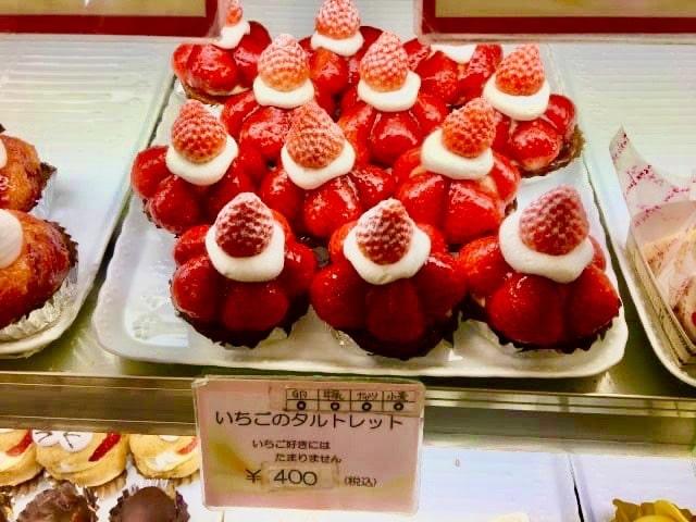 トミタのイチゴケーキ