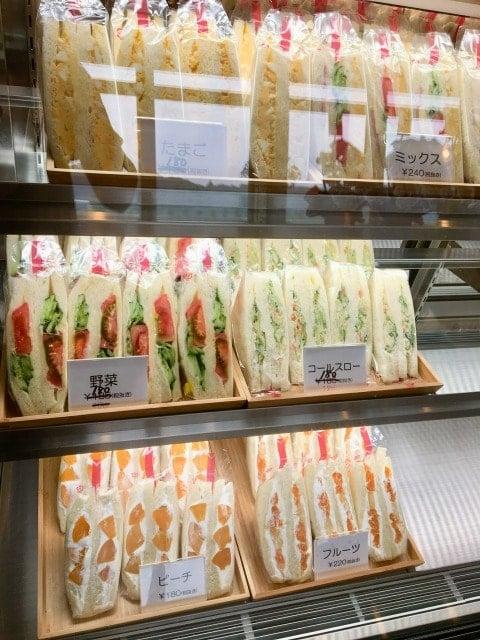 サンドーレのサンドイッチ