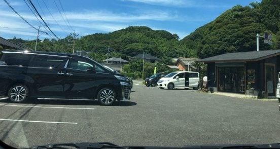 ムンチャの駐車場