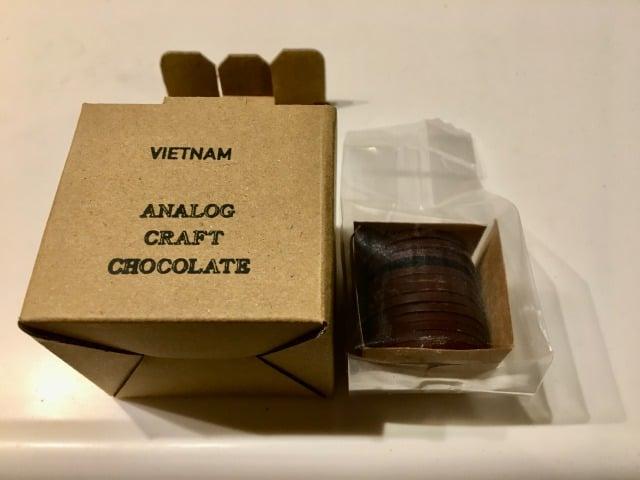 アナログクラフトチョコレートのベトナム