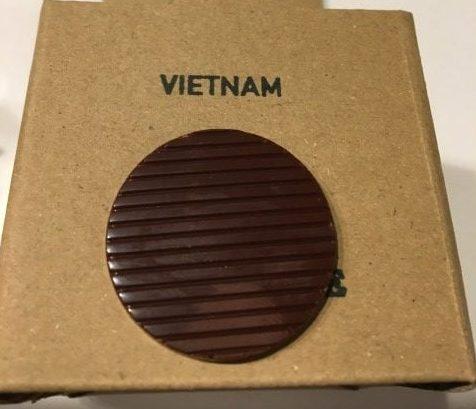 アナログクラフトチョコレートのコインチョコベトナム