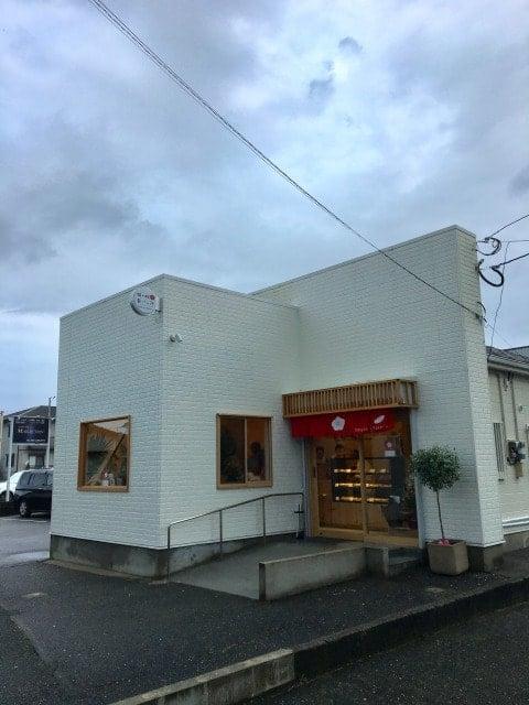 梅ヶ枝製パン所の外観