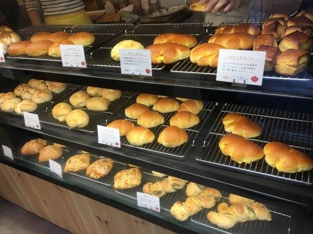 梅ヶ枝製パン所のパン