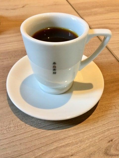 糸島茶房のコーヒー