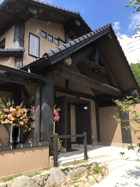 糸島茶房の外観