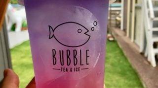 バブルのタピオカドリンク