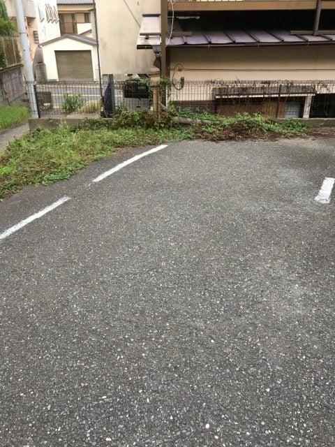 糸島餃子の駐車場
