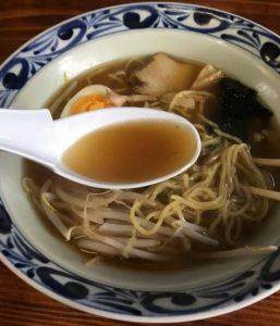 磐梯山のスープ
