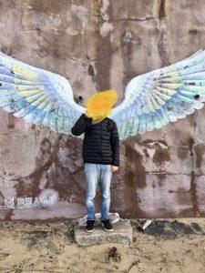 パームビーチの天使の羽