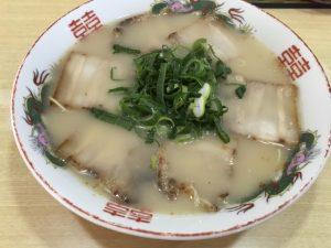 べんてんのチャーシュー麺