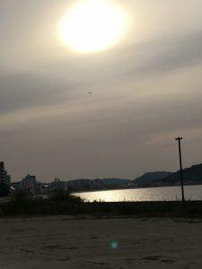 長垂海岸と砂浜