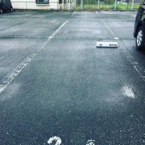 キナフクの駐車場