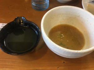 むらまさのスープ割り