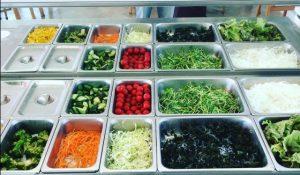グローウェルカフェのサラダ