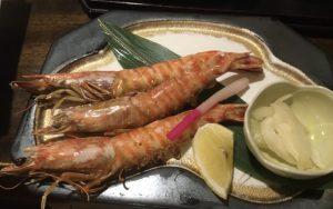 塚本鮮魚店のエビ