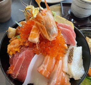 にぎち塚本鮮魚店の極上海鮮丼