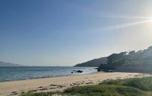伊都ハイランドの近くの海岸