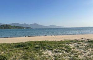 糸島食堂の近くの海岸